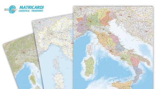 Cartine geografiche - Rotte Matricardi